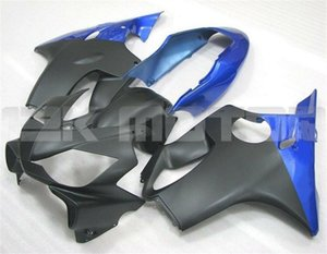 Le nuove carenature dello stampaggio ad iniezione del motociclo ABS kit Fit for HONDA CBR600RR F4i 2004 2005 2006 2007 CBR600 F4i personalizzata gratuita Blu Nero opaco