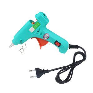 Strumenti 20W Hot Melt Glue Gun 110-220V EU Plug fai da te adesivi Mini Heating elettrico Glue Guns