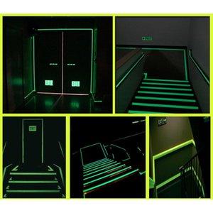 Luminous Tape Luminous Strips Home Decoration Stage Anti-skid Storage Pet Tape Pvc Printing Self-illumination