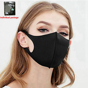 Fashion face mask Have in stock wholesale Dust Protective Mask Reusable Masks Particulate Respirator PM2.5 no Valve 100pcs