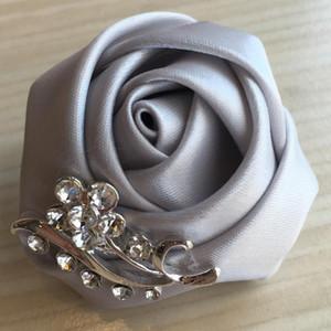 Bouquet sposa sposo sposa della Rosa Fiore all'occhiello Prom per Beat Man bouquet sposa Uomini Spille Suit