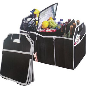 2020 Sacs pliables voiture Organisateur Boot Stuff alimentaire Sacs de stockage organisateur de tronc Case Box Automobile Arrimage Intérieur EEA344 Rangement