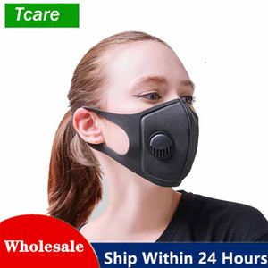 Reusable Cycling Face Mask Filter Anti Pollution Protective Safty Face Masks Fashion Air Filter Mouth Masks For Sport Earloop Mask