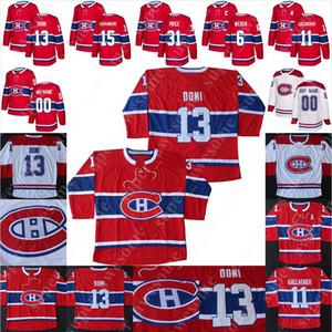 Montreal Canadiens Jersey Guy Lafleur Jean Beliveau Henri Richard Maurice Richard Larry Robinson Yvan Cournoyer Jacques Lemaire Ken Dryden