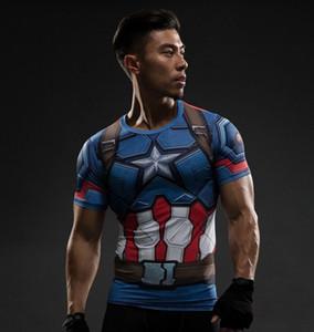 Camicia a compressione Flash 3D T-shirt stampate da uomo Raglan manica lunga Flash Costume Cosplay Abbigliamento fitness Top maschile