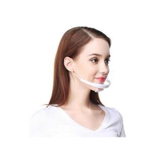 Transparente Maske Speisen- und Getränkeservice Hotelkoch Antifog Kunststoff Lächeln Antifog Küche Sanitär Masken Bericht GD122