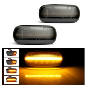 2pcs Led Dynamic Side Marker Light Turn Signal Light Sequential Blinker Light For Audi A3 S3 8P A4 B6 B7 S4 A6 S6 C5
