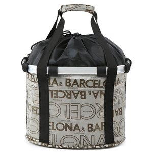 Folding Bike Basket Small Pet Cat Dog Carrier Bag Detachable Bicycle Handlebar Front Basket Cycling Front Bag Handbag