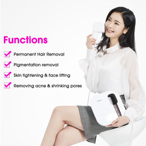 Portable 7.5 J cm2 High Energy Intensity IPL & OPT Laser Skin Rejuvenation Hair Removal Machine