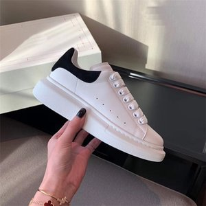 Classique Hommes Femmes Chaussures en cuir Casual Lace Up Designer Comfort Jolie Sneakers Formateurs Hommes Luxe Daily Lifestyle Skateboarding Chaussures