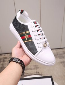 Gucci Nouveau Mode Blanc / Rouge Bas des femmes des hommes Designer Sneakers Casual Top Flat Men Designer Sneaker Outdoor Chaussures de conduite unisexe hococal