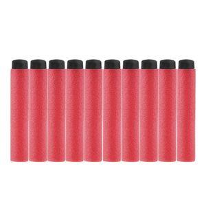 Trabajador de la MOD de espuma EVA dardos de goma suave punta roja de Nerf Blaster Refill juguete