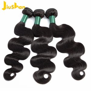 Hair Brazilian Body Wave Hair 3 Piece Natural Color 100% Unprocessed Human Hair Bundles Weaving Machine Double Weft