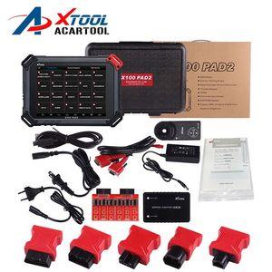 최고 품질의 100 % 오리지널 XTOOL X100 PAD2 PRO 키 프로그래머