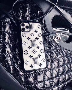 DHL Cell Phone Case Téléphone portable de luxe Designer Accessoires Acrylique 7 couleurs Fitted métal GG Protector Livraison gratuite
