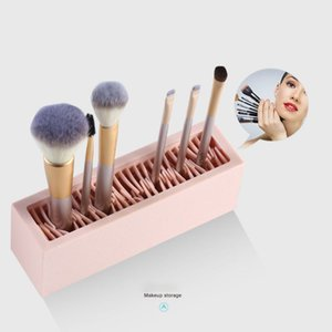 Makeup Brush Storage Box Cosmetic Storage Box Makeup Tool Jewelry Holder Lipstick Brush Display Stand Tools