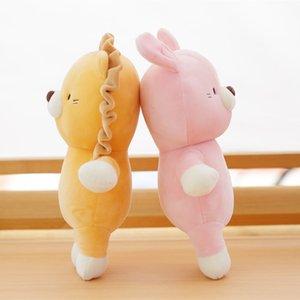 Hot Sweet Soft Animal Baby Appease Plush Toy Cartoon Lion&Rabbit&Cat Stuffed Doll Girl Birthday Christmas Gift Home Decoration