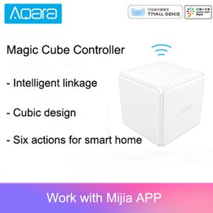 Aqara Magic Cube Controller Zigbee Version Controlled by Six Actions For Smart Home Device work with mijia home app
