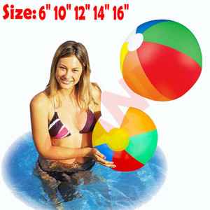 Pudcoco gonflable Panel Beach Ball Blow Up vacances Piscine Game Party jouets d'enfants Ballons d'eau