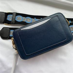 2020 vente haut de haute qualité nouveau sac de caméra couleur correspondant peau de vache Designer de luxe Crossbody design de luxe des femmes de sacs photo d'épaule