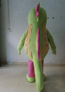 2018 Factory hot the green seahorse mascot costumes for adult hippocampi mascot costume suit