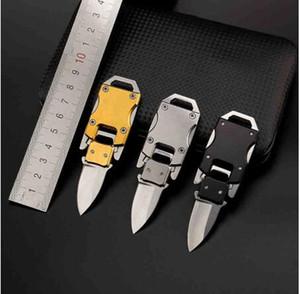 Мини Карманный нож Многофункциональный Парашютисты папа Кемпинг выживания Складные ножи Портативный EDC брелок инструмент