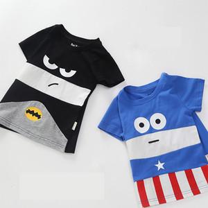 New Boys Girls Cotton T Shirts Children Tees Short Sleeve Cartoon Shirts Kids Top Clothes
