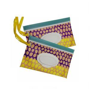 Hot Grandes Exteriores Viagens bebê recém-nascido Crianças Limpe Toalha caixa caso Wet Wipes Dispenser Box Bag Eco-Friendly Wet Papel