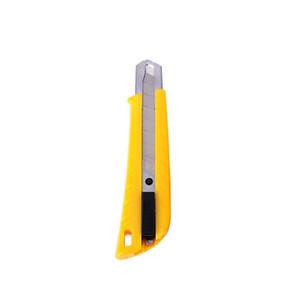 Yeni plastik Büro Bıçak Big Geri çekilebilir Bıçak kopma bıçak Yüksek karbonlu çelik Kağıt Kesici Kağıt, Karton ve ince sacların kesimine
