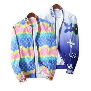 2020 new designer Jacket Coat Sweatshirt Hoodie Long Sleeve Autumn Sports Zipper Windbreaker Mens Clothes Plus Size M-3XL