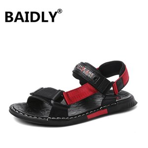 New Men Sandals Comfortable Genuine Leather Sandals Casual Shoes for Male Beach Men Summer Shoes