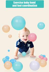 50/100 Pcs surdimensionné écologique piscine colorée en plastique souple eau vagues de l'océan Boule bébé drôle Jouets d'extérieur Fun Sport 5.5 / 7/8 cm