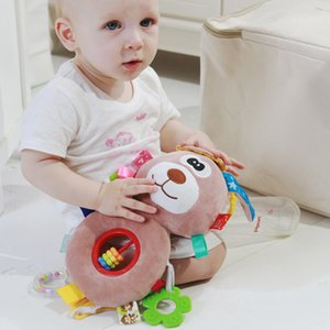 Baby Toys Mobile Plush Cartoon Bed Rattles Bell Toy Baby Crib Stroller Hanging Teethers Toys for baby