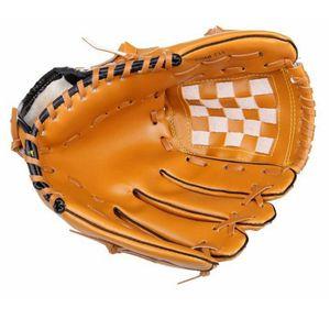 PVC Sports Baseball Gloves Adult Man Woman Portable Practice Equipment Training Hardball Softball Baseball Glove