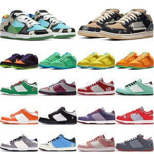 chunky dunky sb dunk low 2020 Top Fashion Authentic Dunks Mens Running Shoes Chunky Dunky Bears 발렌타인 데이 야외 운동화 시러큐스 여성 트레이너 크기 36-45