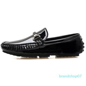 2020 New Peas Schuhe Sommer zufälligen Männer faule Herren Bootsschuhe Außenhandel Europa und Amerika Loafers Silver Cross-Border