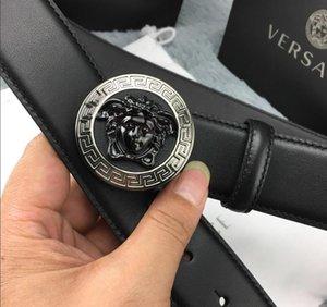 Cinturones Cinturones de diseño de lujo casual para mujer para hombre marca de la correa con Monster Smooth hebilla de la novedad Ancho de banda de 34 mm de alta calidad con la caja