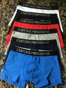 mens Marca Sexy Seamless Underwear Boxer Homens Homens Cueca de algodão Shorts Boxer Homme Pouch Boxers Underware grande 123