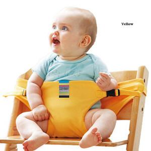 Portatif Bebek Yüksek Sandalye Booster Emniyet Koltuk Kayış Harness Yemek Emniyet Kemeri Arabası Aksesuarları