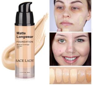 30ml Face Foundation Makeup Professional Base Make Up For Dark Skin Matte Cream Oil Control Liquid Natural Cosmetic