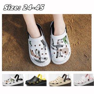 stilleri Çocuk sandalet 001 moda sandalet hindistan cevizi delik delik delik plaj spor ayakkabıları unisex sürümü alt aşınma slippers yumuşak çeşitli
