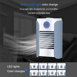 Fan Soğutma Dayanıklı Masaüstü Nemlendirici Bluetooth Hoparlör Şarj Mini Soğutucu Fan Çok fonksiyonlu Soğuk Hava Çok fonksiyonlu USB
