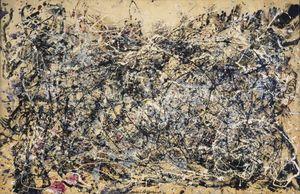 Jackson Pollock Numero 1A Home Decor dipinto a mano HD Stampa olio su tela dipinto arte della parete della tela di Immagini 200206