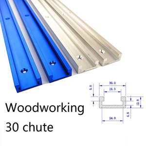 Haufen Holzbearbeitungsmaschinen Teile Aluminiumlegierung T-Spur Slot Mitre Spur Jig Fixture für Router Tabelle Sägemaschinen Holzbearbeitung DIY Werkzeug Leng ...