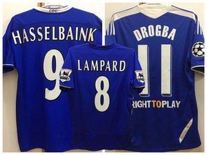 Retro klasik 2004 2005 2006 2011 2012 Lampard futbol formalar TORRES DROGBA MATA TERRY IVANOVİC DAVİİD LUİZ 04 05 11 12 Retro futbol gömlek