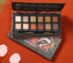 Perfect Diary Makeup Eyeshadow Palette 12 Colors Animal Shimmer Matte Discovery Eye shadow Beauty Cosmetics Tiger pig wolf crocodile 4 Style