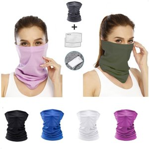 Bicycle Mask with 2 Filter Camping Hiking Magic Scarf Anti Dust Protective Outdoor Sports Face Mouth Masks
