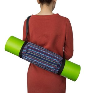 Portable Yoga Mat Bag Shoulder Carrier Adjustable Fashion Outdoor Exercise Case Waterproof Strap Casual Accessories