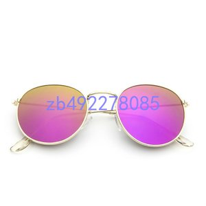 3447 1Brand Design Sunglasses women men Brand designer Mirror Good Quality Fashion metal Oversized sunglasses vintage female male UV400