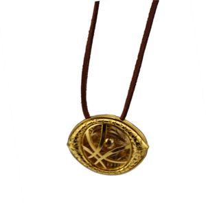 J магазин 12 шт. / лот Оптовая доктор странное ожерелье глаз античная бронза кулон кожаный шнур длинное ожерелье косплей